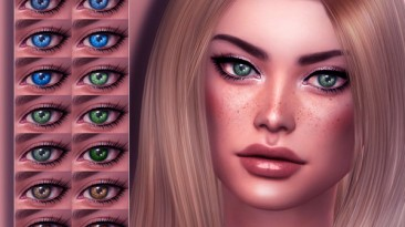 "Sims 4 ""Набор реалистичных глаз для Ж (2020)"""