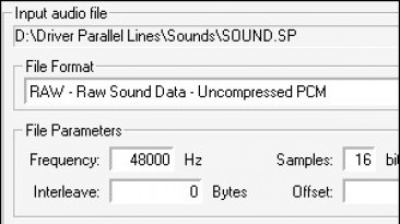 "Driver: Parallel Lines ""MF Audio v1.1"""