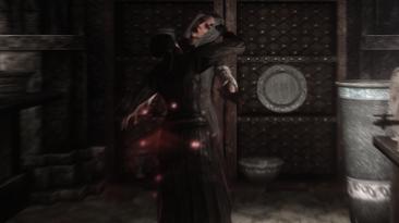 "Skyrim ""Укус вампира во время боя"""