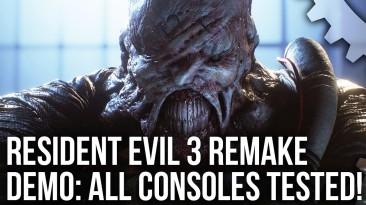 Технический анализ демо ремейка Resident Evil 3 от Digital Foundry