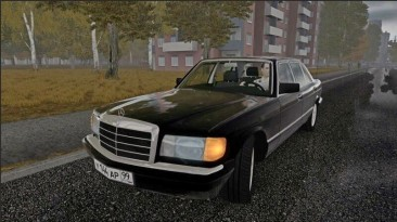 "City Car Driving ""Mercedes-Benz W126 560SE (v1.5.9 - 1.5.9.2)"""