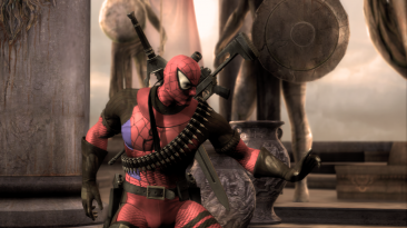 """Injustice: Gods Among Us """"Spider-Pool and Red Lantern"""""""