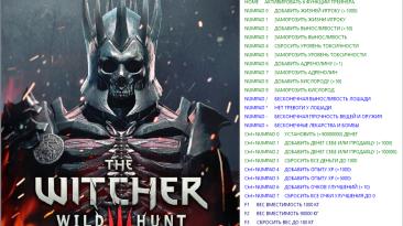 The Witcher 3: Wild Hunt / Ведьмак 3: Дикая Охота - ALL DLC: Трейнер/Trainer (+27) [1.11] [64 Bit] {Baracuda}
