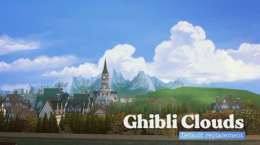 "The Sims 4 ""Замена облаков в стиле студии Гибли"""