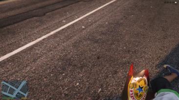 "Grand Theft Auto 5 ""Newcastle Brown Ale Broken Bottle"""