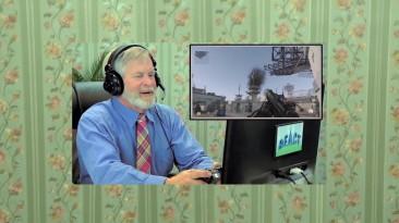 Реакция стариков на Call of Duty: Advanced Warfare