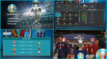 """FIFA 21 """"ЕЕР ЕВРО 2020 мод V2.1"""""""