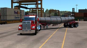 """American Truck Simulator """"Прицеп Polar Deep Drop в собственность"""""""