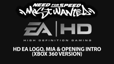"Need for Speed: Most Wanted ""HD EA Лого и вступительные ролики (Xbox 360 Version)"""
