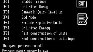 Command and Conquer - Generals Zero Hour: Трейнер/Trainer (+7) [v1.4] {LIRW / GHL}