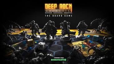 Анонсирована настольная игра Deep Rock Galactic