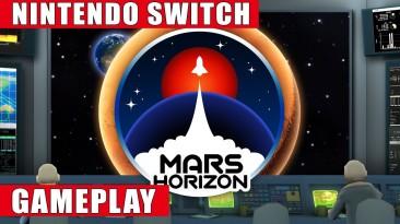 Запись игрового процесса космической стратегии Mars Horizon