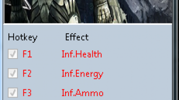 Crysis 2: Трейнер/Trainer (+3) [1.9.0.0] {MrAntiFun}