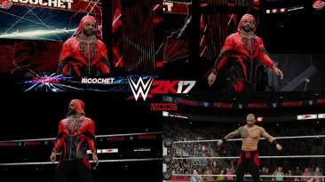 "WWE 2K17 ""Ricochet Takeover Phoenix Наряд (Лицевая анимация) WWE 2K19 Порт Мод"""
