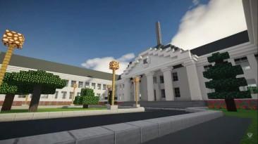 Семиклассник построил город Гродно в Minecraft