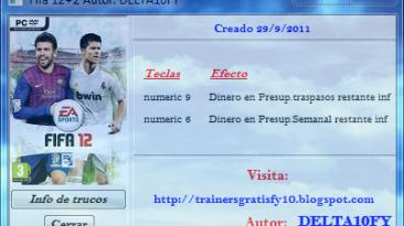 FIFA 12: Трейнер (+2) [1.0] {Delta10FY}