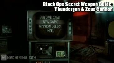 """CoD: BO """"Гайд по секретному оружию Thundergun & Zeus Cannon"""""""