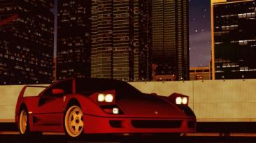 """City Car Driving """"1987 Ferrari F40 DLC (v1.5.9.2)"""""""