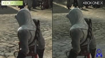 Сравнение графики - Assassins Creed Xbox 360 vs Xbox One X (ElAnalistaDeBits)