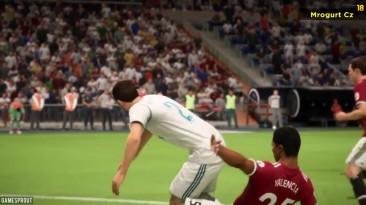 FIFA 18 Компиляция Фейлов (Демо)