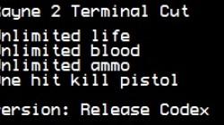 BloodRayne 2 Terminal Cut: Трейнер/Trainer (+4) [Codex] {LIRW / GHL}