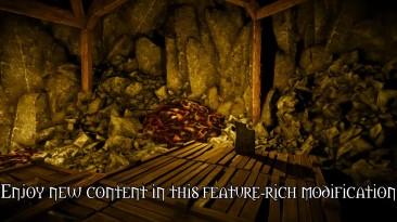 """Witcher 3: Wild Hunt """"Devil's Pit Mod by SkacikPL"""" - Геральт может взять компаньона и исследовать новую локацию"""