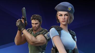 Персонажи из Resident Evil появились в Fortnite