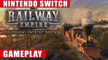 Представлен геймплей Railway Empire - Nintendo Switch Edition