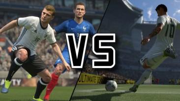 Почему любителям футбола стоит выбрать новый PES, а не FIFA 17