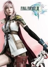 Обложка игры Final Fantasy 13