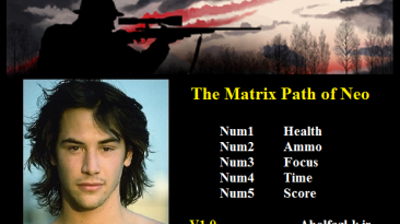 The Matrix Path of Neo: Трейнер/Trainer (+5) [1.0] {Abolfazl.k}