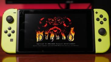 Игрок выпустил порт Diablo 1 на Switch с Homebrew