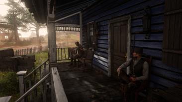 """Red Dead Redemption 2 """"Возможность сидеть"""""""
