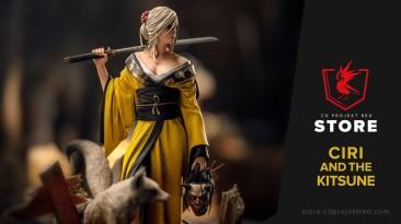 Официальный трейлер фигурки Цири с Кицунэ