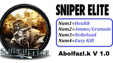 Sniper Elite: Трейнер/Trainer (+4) [1.0] {Abolfazl.k}