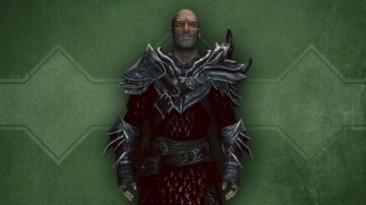 """Skyrim """"Alternative Armors - Daedric Mail"""""""