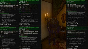 The Witcher 3: Wild Hunt / Ведьмак 3: Дикая Охота: Чит-Мод/Cheat-Mode (Чит-сет грандмастерской брони грифона)