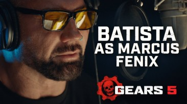 Трейлер Gears 5 - все о Дэйве Батисте в роли Маркуса Феникса
