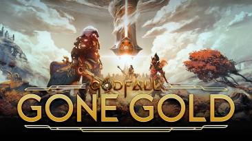 Godfall ушла на золото