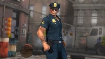 DOA5 Ultimate DLC Police Costume