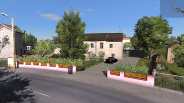 "Euro Truck Simulator 2 ""House - Brest (FR) версия 1.0 (v1.31.x)"""