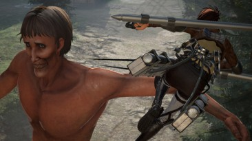 Видео применения Громового копья в Attack on Titan 2: Final Battle для PS4, Xbox One, Switch и PC
