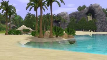 "The Sims 3 ""Необитаемый остров в стиле castaway island"""