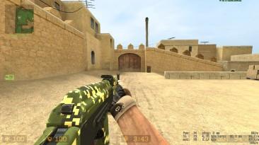 """Counter Strike: Source """"Пиксельный АК-74М из EFT"""""""