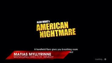 "Alan Wake's American Nightmare ""Первое геймплейное видео"""