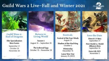 Guild Wars 2: В ближайшие месяцы к игре выйдет много нового контента