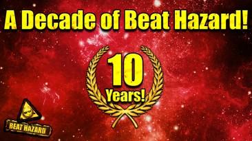 В честь десятилетия серии, музыкальный космический шутер Beat Hazard 2 получил бесплатные выходные и скидки