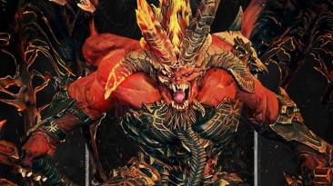 Total War: Warhammer III раскрывает легендарного лорда Кхорна