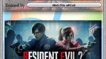 Resident Evil 2: Трейнер/Trainer (+5) [20191218] {iNvIcTUs oRCuS / HoG}