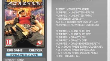 Duke Nukem Forever - Demo: Трейнер (+7) [All Versions] {h4x0r}
